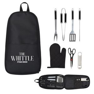 7-Piece Pit Master BBQ Set In Carrying Case