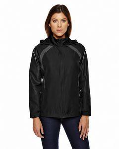 NORTH END Ladies' Sirius Lightweight Jacket with Embossed Print
