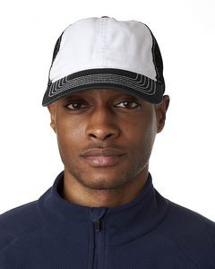 ULTRACLUB Adult Classic Cut Brushed Cotton Twill Unstructured Trucker Cap