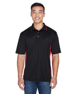 ULTRACLUB Men's Cool & Dry Sport Two-Tone Polo