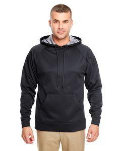 ULTRACLUB Adult Cool & Dry SportFleece Hooded Sweatshirt