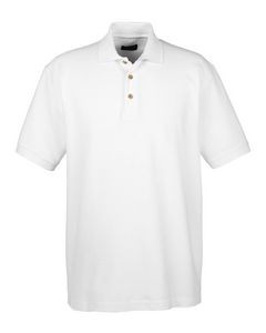 ULTRACLUB Men's Classic Piqué Polo