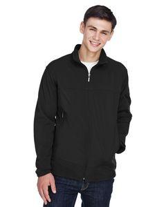 NORTH END Men's Three-Layer Fleece Bonded Performance Soft Shell Jacket