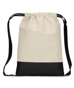 Liberty Bags Cape Cod Cotton Drawstring Backpack