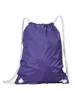 Liberty Bags WhiteDrawstring Backpack