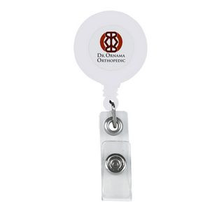Retractable Badge Holder With Antimicrobial Additive