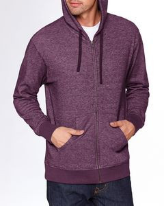 NEXT LEVEL APPAREL Adult Denim Fleece Full-Zip Hoodie