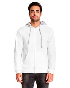 NEXT LEVEL APPAREL Adult French Terry Zip Hoodie