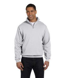 Jerzees Adult NuBlend® Quarter-Zip Cadet Collar Sweatshirt