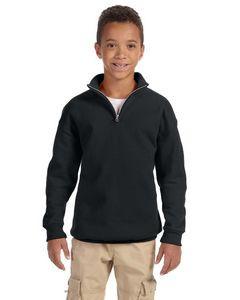 Jerzees Youth NuBlend® Quarter-Zip Cadet Collar Sweatshirt