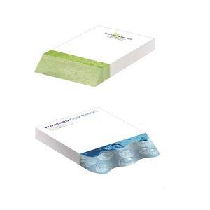 "150 Sheet BIC® Adhesive Beveled Notepad (4""x6"")"