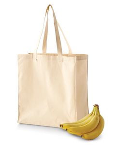 Bagedge - Big Accessories 6 oz. Canvas Grocery Tote