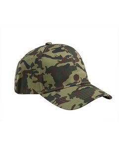 Big Accessories Structured Camo Hat