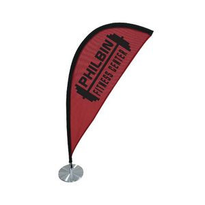 Teardrop Table Top Flag