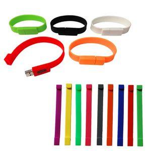 Silicone Bracelet USB