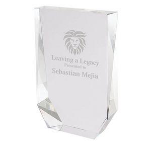 Chaintre I Medium Crystal Wedge Award