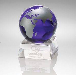 Firmada II Blue Crystal Globe