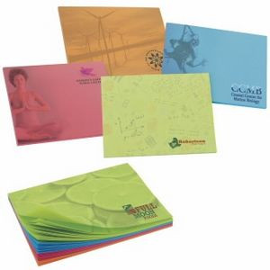 """25 Sheet BIC® Sticky Bright Colored Paper Adhesive Notepad (4""""x3"""")"""