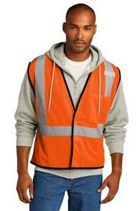 CornerStone ® ANSI 107 Class 2 Economy Mesh One-Pocket Vest