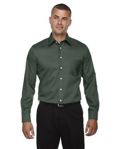 Devon and Jones Men's Crown WovenCollection® Solid Stretch Twill
