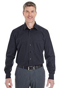 Devon and Jones Men's Crown Woven Collection® StripedShirt