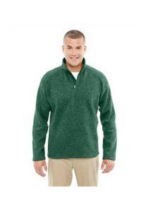 Devon and Jones Adult Bristol Sweater Fleece Quarter-Zip