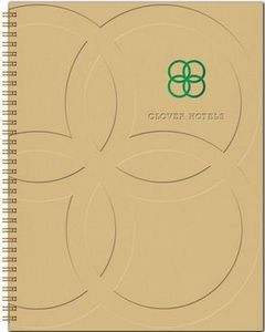 """TheDirector™ HardCover Monthly Planner (8.5""""x11"""")"""