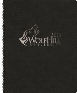 """TheDirector™ Monthly Planner w/Leatherette Wraparound (8.5""""x11"""")"""