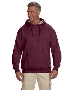 Econscious - Big Accessories Adult Organic/Recycled Heathered Fleece Pullover Hooded Sweatshirt