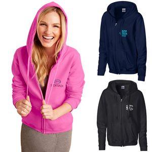 Ladies Gildan® Heavy Blend™ Full Zip Hooded Sweatshirt