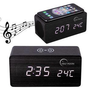 Opus Wireless Charging Speaker w/ Clock