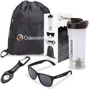 Athletic 4-Piece Fitness Gift Set