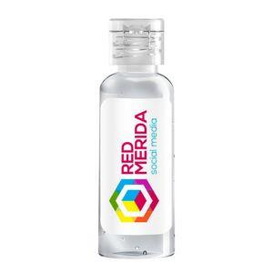 1.7 Oz Round Hand Sanitizer Bottle