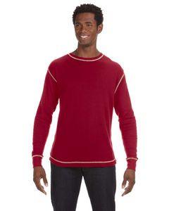 J AMERICA Men's Vintage Long-Sleeve Thermal T-Shirt