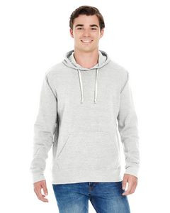 J AMERICA Adult Triblend Pullover Fleece Hooded Sweatshirt