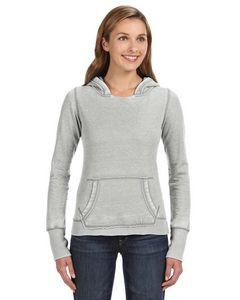 J AMERICA Ladies' Zen Pullover Fleece Hooded Sweatshirt