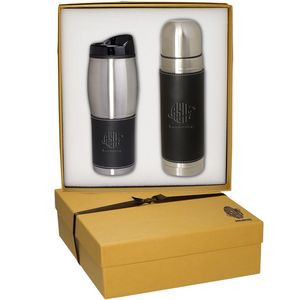 Tuscany™ Thermal Bottle & Tumbler Gift Set
