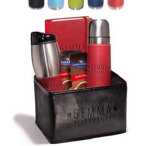 Tuscany™ Thermal Bottle, Tumbler & Journal Ghirardelli® Gift Set