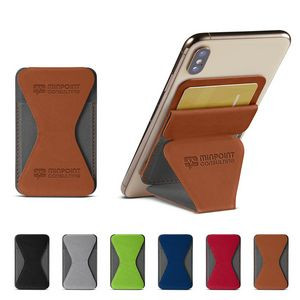 Tuscany™ Magnetic Card Holder Phone Stand