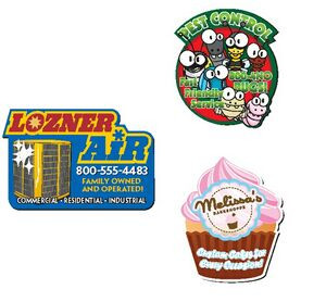 20 Mil BIC® Custom Shape Magnet (14.01-16 Square Inches)