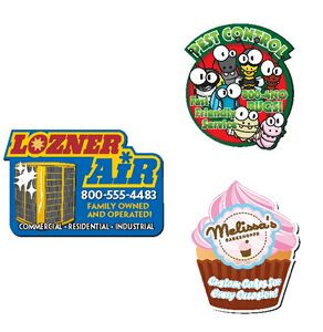 30 Mil BIC® Custom Shape Magnet (6.01-8 Square Inches)