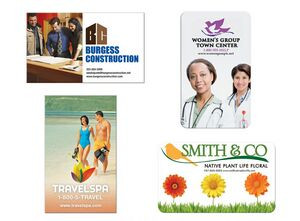 30 Mil BIC® Jumbo 4-Color Process Business Card Magnet