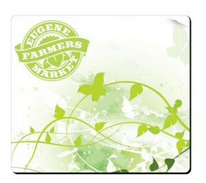 """BIC® Fabric Surface Mouse Pad (7 1/2""""x8""""x1/16"""")"""