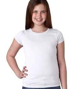 NEXT LEVEL APPAREL Youth Girls? Princess T-Shirt