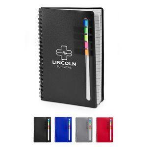 Semester Spiral Notebook w/Sticky Flags
