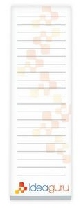 """25 Sheet BIC® Ecolutions® Non-Adhesive Scratch Pad (3""""x9"""")"""