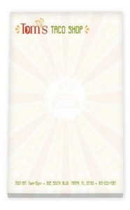 """25 Sheet BIC® Ecolutions® Non-Adhesive Scratch Pad (4""""x6"""")"""