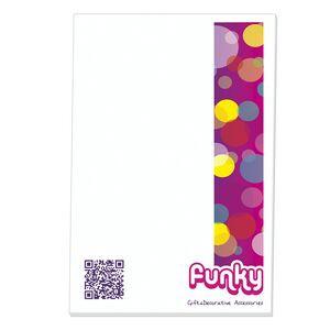 "25 Sheet BIC® Non-Adhesive Scratch Pad (6""x9"")"