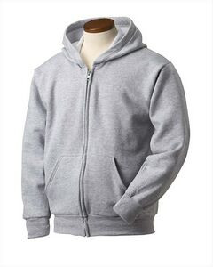 Hanes Printables Youth EcoSmart® 50/50 Full-Zip Hooded Sweatshirt