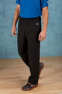 Champion Adult Double Dry Eco® Open-Bottom Fleece Pant with Pockets